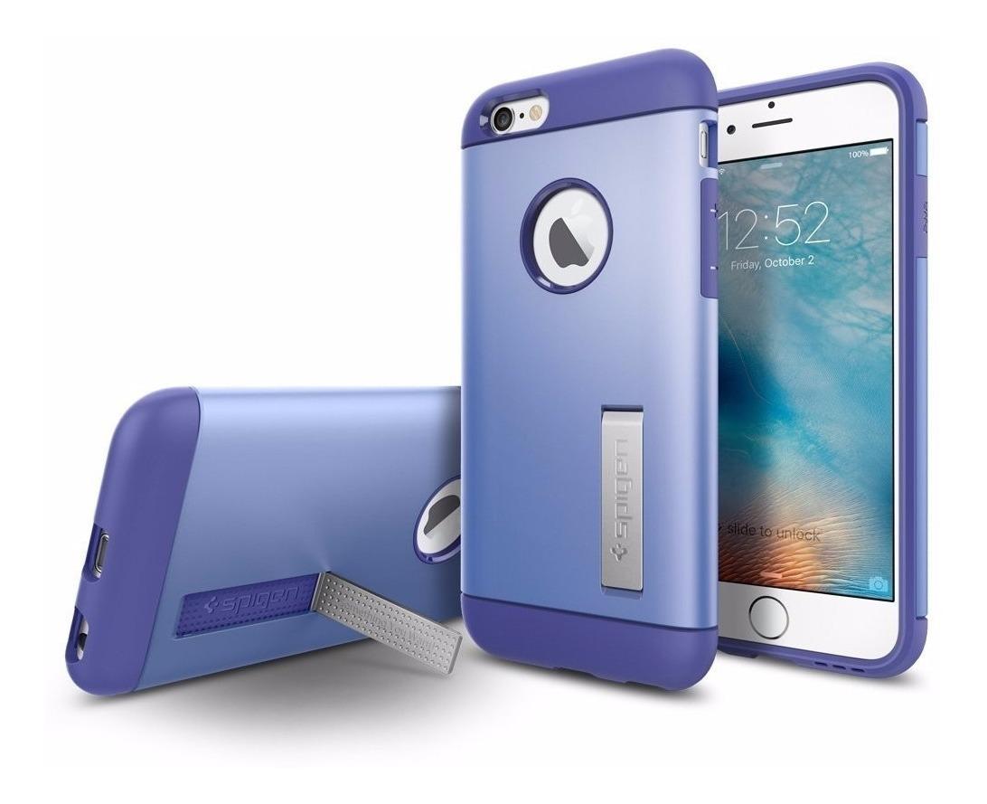 22e9828870c Funda iPhone 6 Plus Marca Spigen Slim Armor - Violet - $ 349.00 en ...