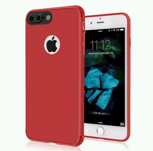 funda iphone 6 silicon rojo envio gratis