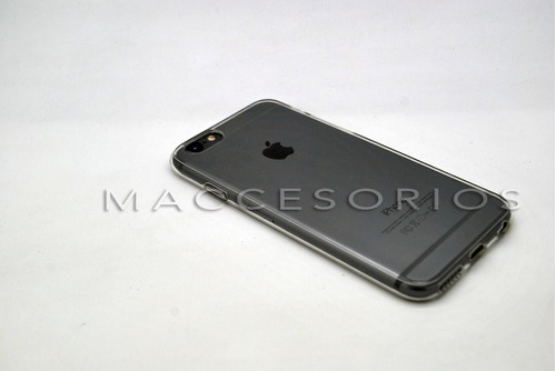 funda iphone 6 transparente fina gel tpu