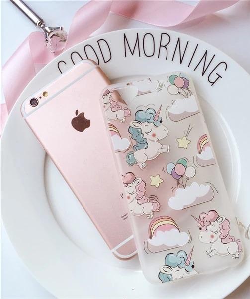 c5a7b61f008 Funda iPhone 6 Unicornio Silicon Envio Gratis - $ 229.00 en Mercado ...