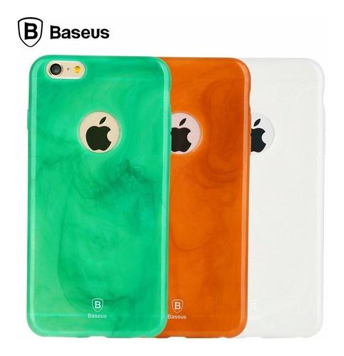 funda iphone 6 y 6s jade de lujo tpu baseus envió gratis