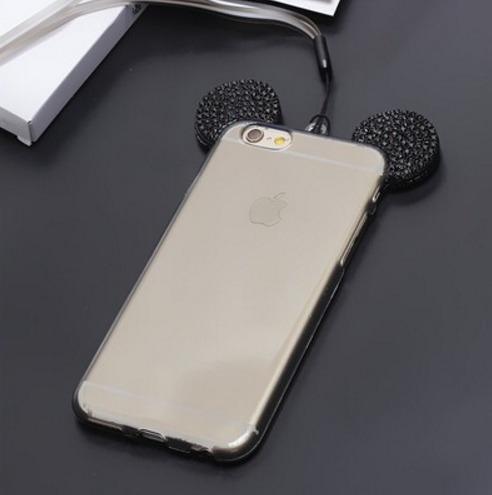 funda iphone 6/6s mickey mouse brillos