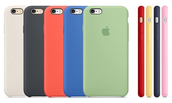 e4c1c9c19e4 Funda iPhone 6/6s Plus 6s Silicone Case Original Colores - $ 399.00 ...