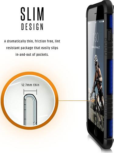 funda iphone 6/6s plus urban armor gear azul 100% original