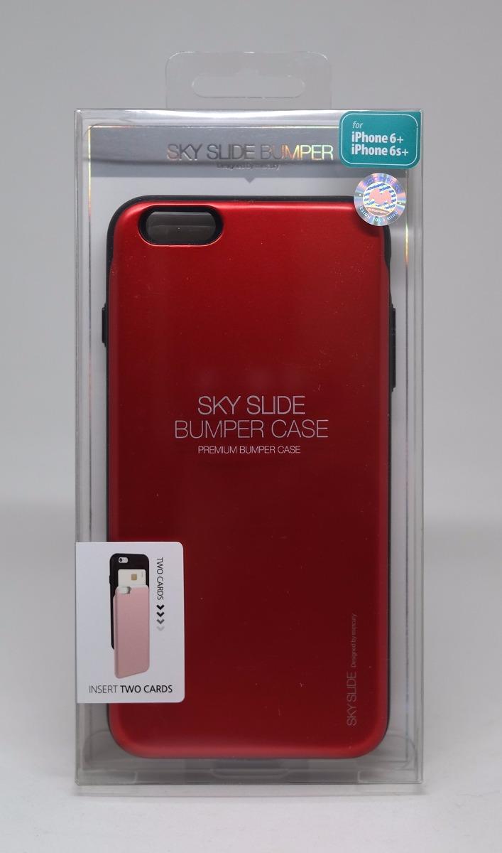 Harga Dan Spek Goospery Iphone 6 Plus 6s Sky Slide Bumper Case 8 Hotpink Funda 6plus Mercury Rojo 19900 En Black