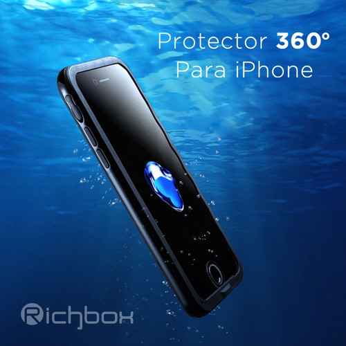 funda iphone 6plus protector playa sumergible agua antigolpe