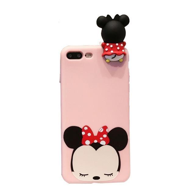 f29ced54ffd Funda iPhone 6s 6 Plus 8 7 Minnie Mouse Disney Silicona - $ 239.00 ...