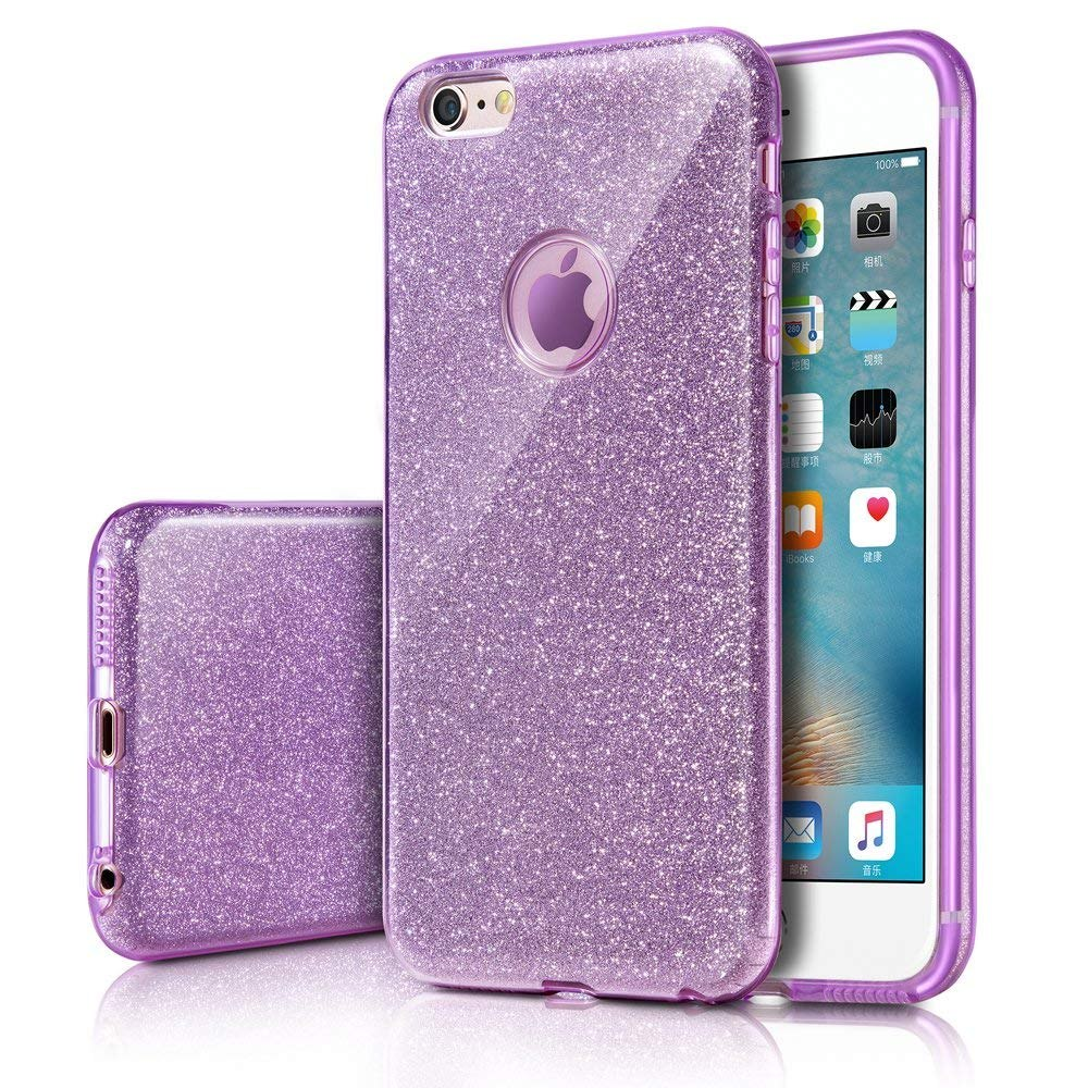 0b81b59fa3c Funda iPhone 6s, Funda iPhone 6, Funda Brillo Brillante Milp - $ 726 ...