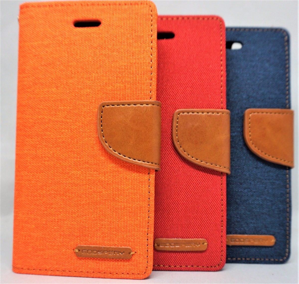 Mercury Goospery Canvas Diary Case For Iphone 6 Navy Spec Dan Samsung Galaxy S8 Red Funda 6s Cargando Zoom