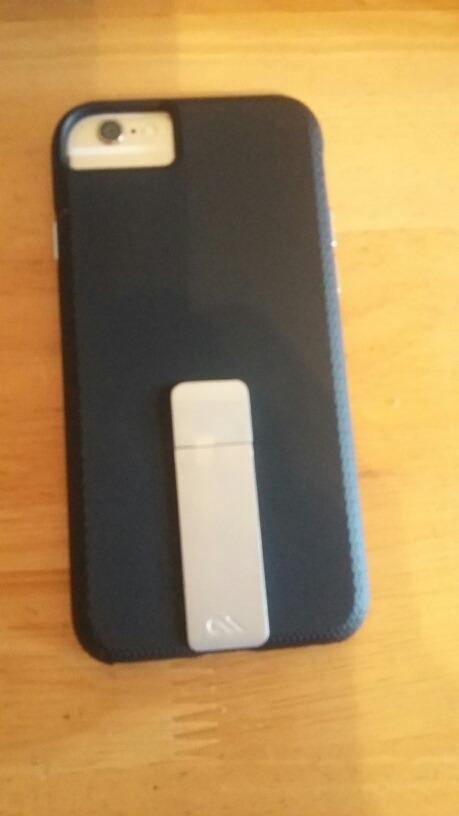 3fd645bfcfb funda iphone 6s - negro - case mate con soporte - como nueva. Cargando zoom.