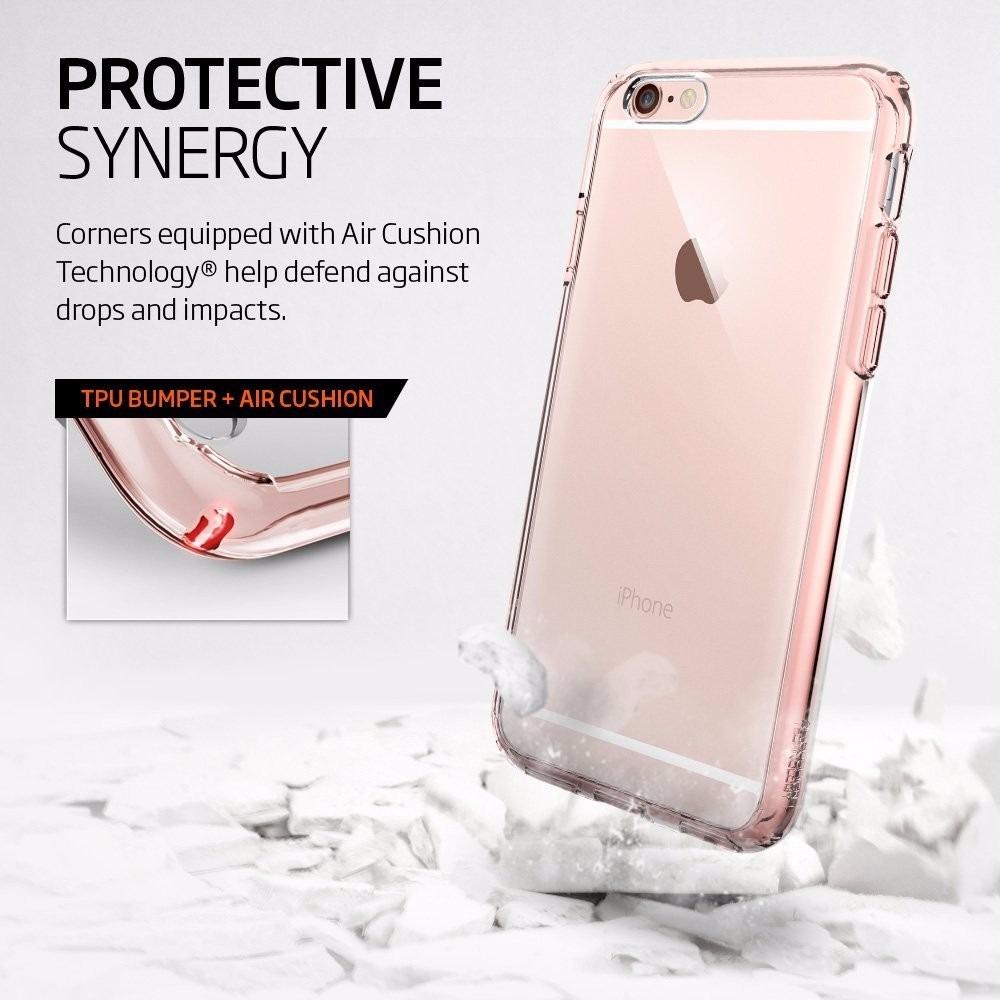 f33cdd4afc0 Funda iPhone 6s Plus 6 Plus Spigen Rosa Transparente - $ 549,00 en ...