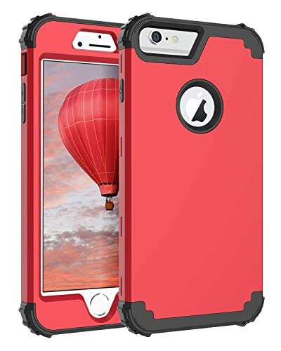 3b570c590f1 Funda iPhone 6s Plus, Funda iPhone 6 Plus, Bentoben 3 En 1 H ...