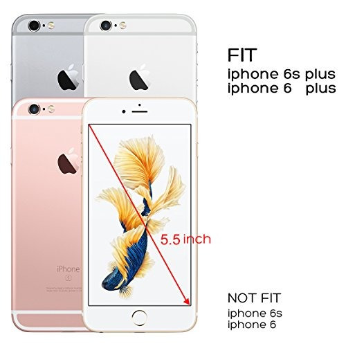 funda iphone 6s plus, iphone 6 plus funda de piña, ulak fund