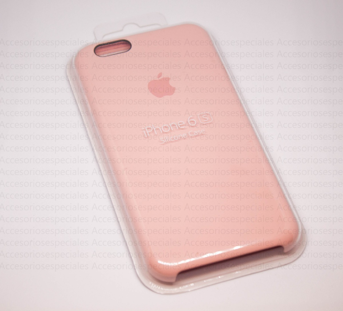 e96d640777f Funda iPhone 6s Silicone Rosa Case Original Apple 100% - $ 599,00 en ...