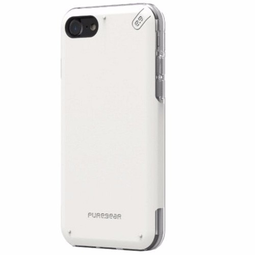 funda iphone 7 4.7 pure gear dualtek pro rigida + silicon