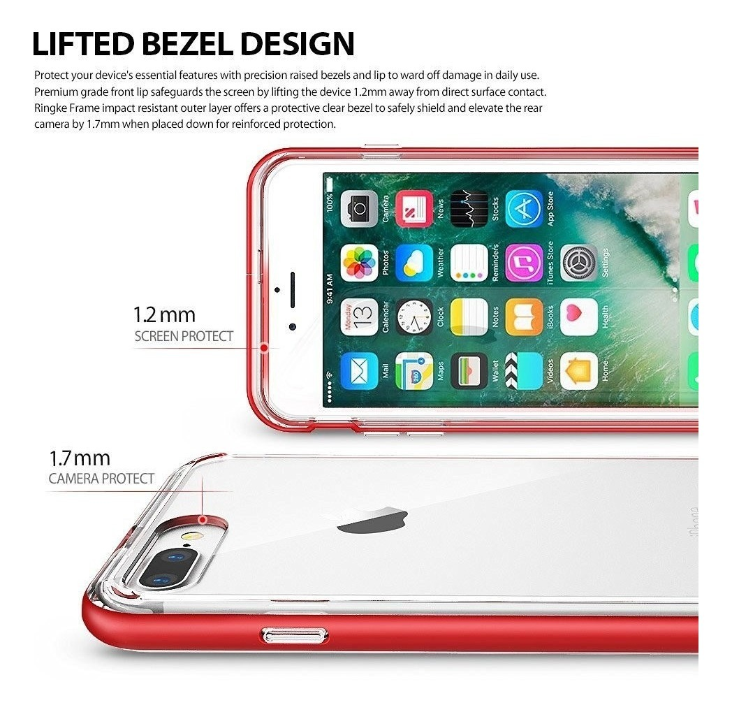 c1c061d66ab Funda iPhone 7 8 & iPhone 7 8 Plus Ringke Original Frame - $ 494,00 ...