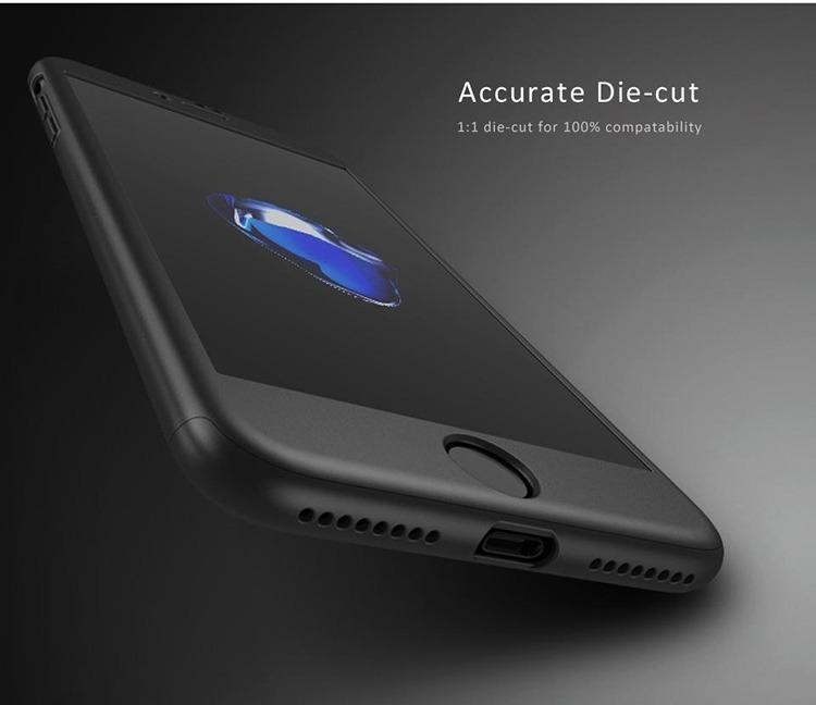 b2ae7c3e83b Funda iPhone 7 8 Plus 360 Completa Cristal Templado Ipaky - $ 249.00 ...