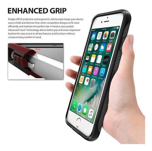 funda iphone 7 8 plus ringke® onyx anti impacto original