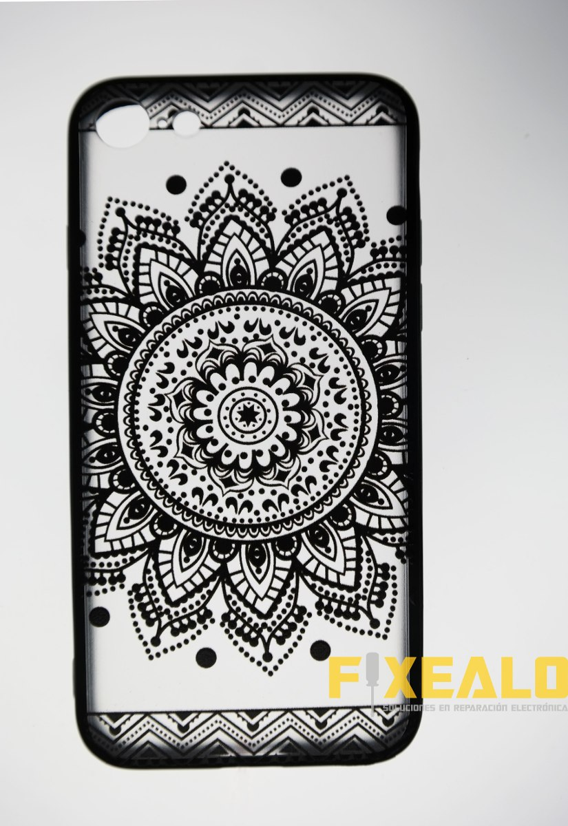 7c5685e1086 funda iphone 7 8 protector crystal tattoo diseño mandala. Cargando zoom.