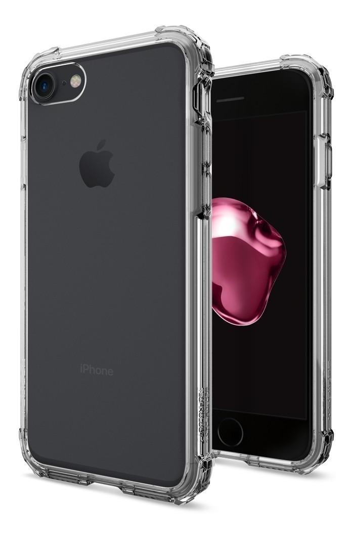 Funda iphone 8 transparente Crystal shell de uso rudo