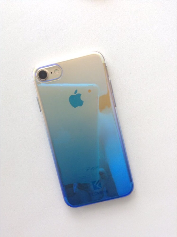 carcasa iphone 7 azul