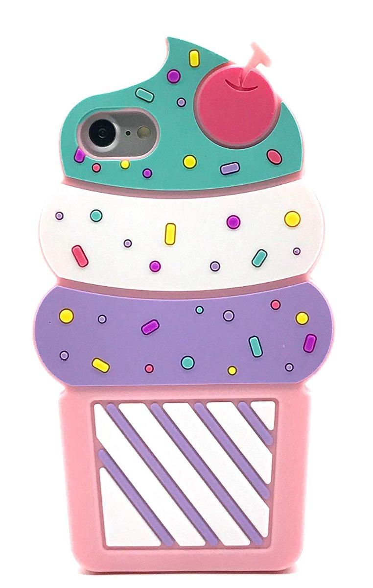 Funda Iphone 7, Funda Iphone 8, 3d De Dibujos Animados Color ...