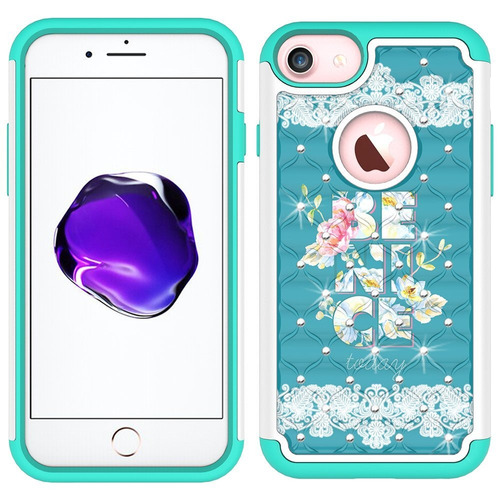 funda iphone 7, funda iphone 8, magicsky [amortiguadores] fu