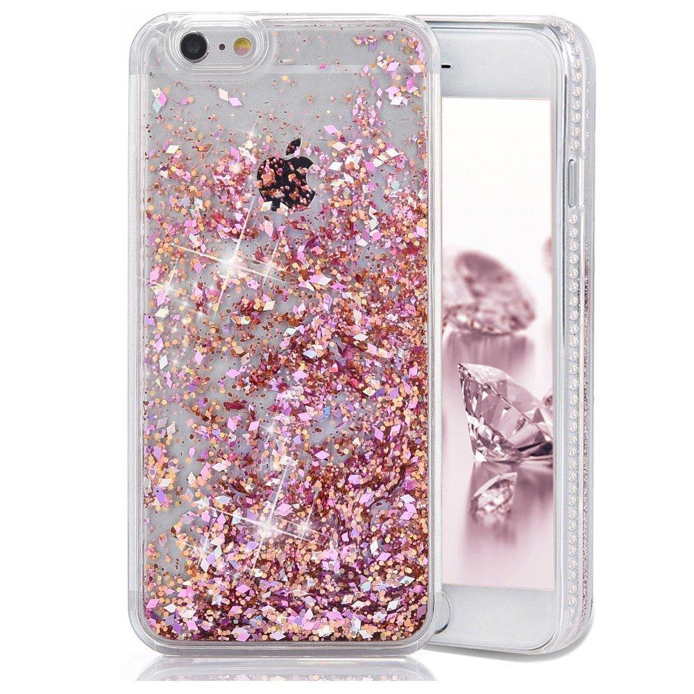 carcasa iphone 7 purpurina