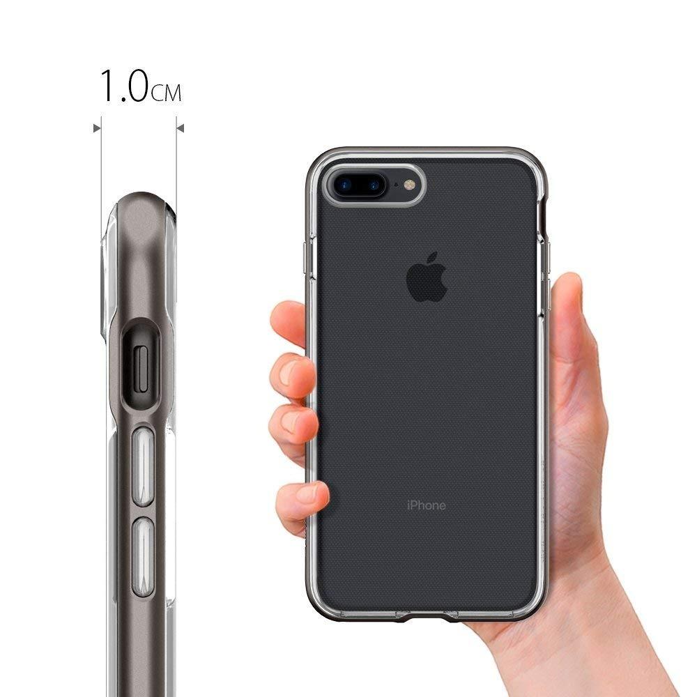50d34fff674 funda iphone 7 plus neo hybrid crystal bumper gunmetal tpu. Cargando zoom.