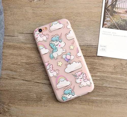 06ffc9c53b7 Funda iPhone 7 Plus Unicornio Silicon Envio Gratis - $ 229.00 en ...