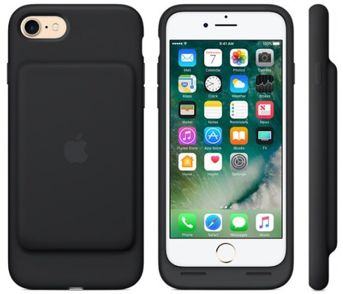 funda iphone 7 smart battery case original apple negro a166
