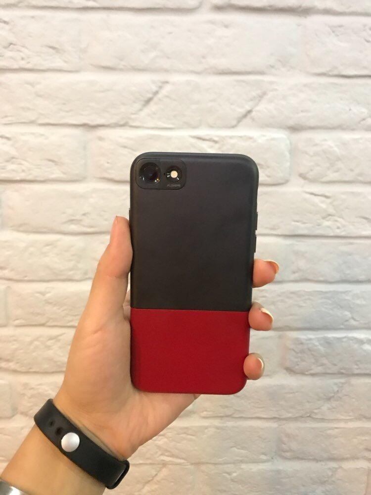 aec04838b23 Funda iPhone 7 Ultra Slim Rígida Rojo Y Negro - $ 300,00 en Mercado ...