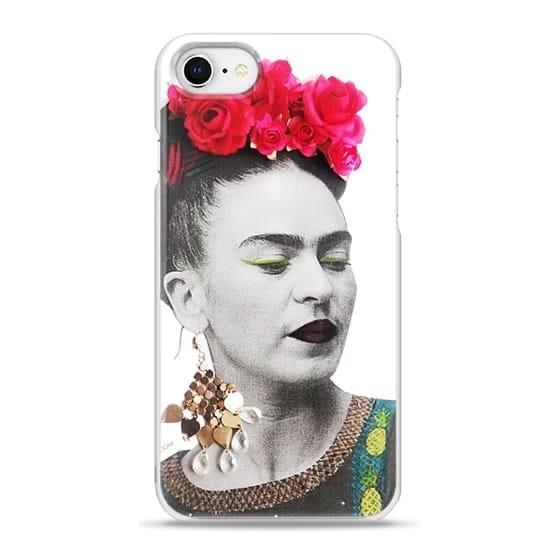 fecaf4bc59a Funda iPhone 7/8. Doble Case. Frida Kahlo. Reforzada - $ 450,00 en ...