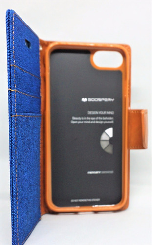 funda iphone 7/8 mercury goospery canvas diary