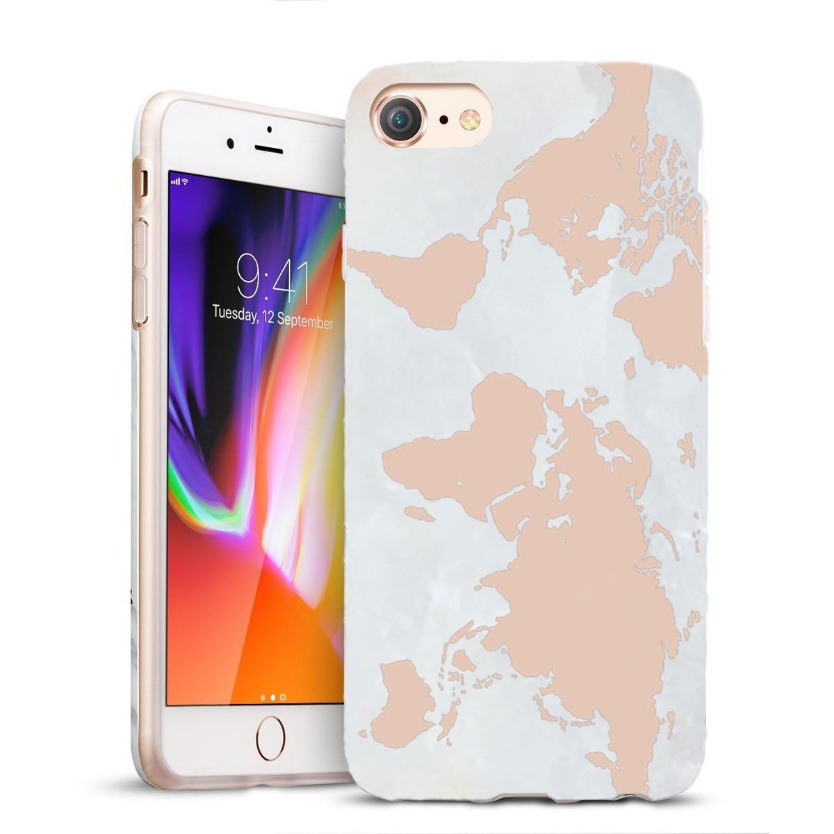 carcasa iphone 8 con tapa