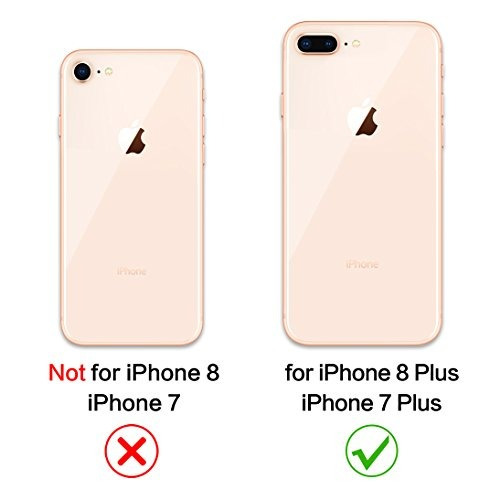 funda iphone 8 plus, 7 de cuero original