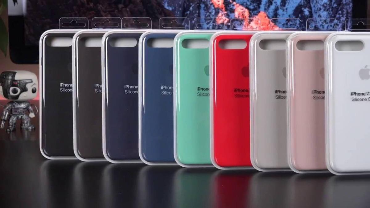 f1341e98d6d funda iphone 8 plus 7 plus apple original silicona soft. Cargando zoom.