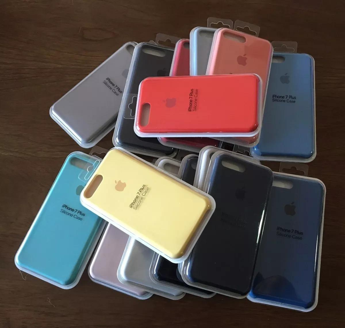 Funda iPhone 8 Plus 7 Plus Apple Original Silicona Soft en venta