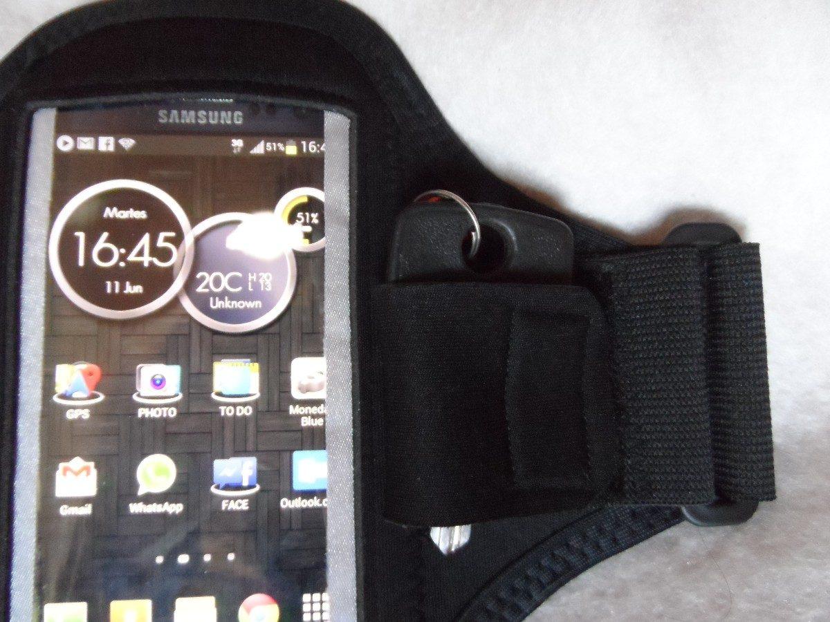f8feac1f828 funda iphone brazalete running porta celular y llaves!!! Cargando zoom.