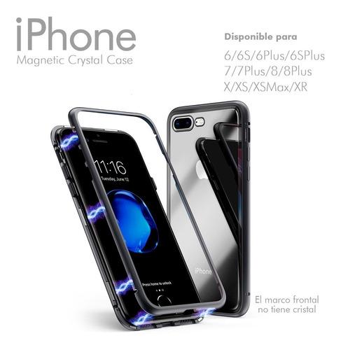funda iphone carcasa magnética todos los modelos