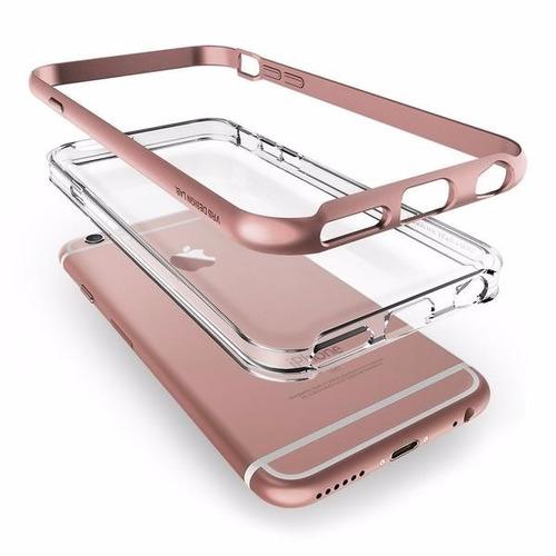 4d97b1f320c Funda iPhone Plus 6s Vrs Design (verus) Crystal Bumper -rosa ...