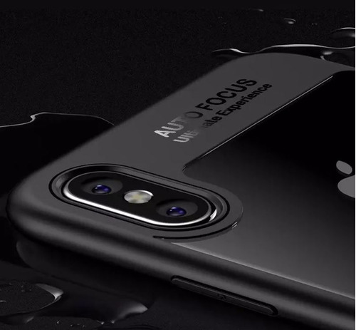 funda iphone shokproof bumper case iphone x xs 7 y 8 plus mica gratis maxima proteccion de gogo electronics