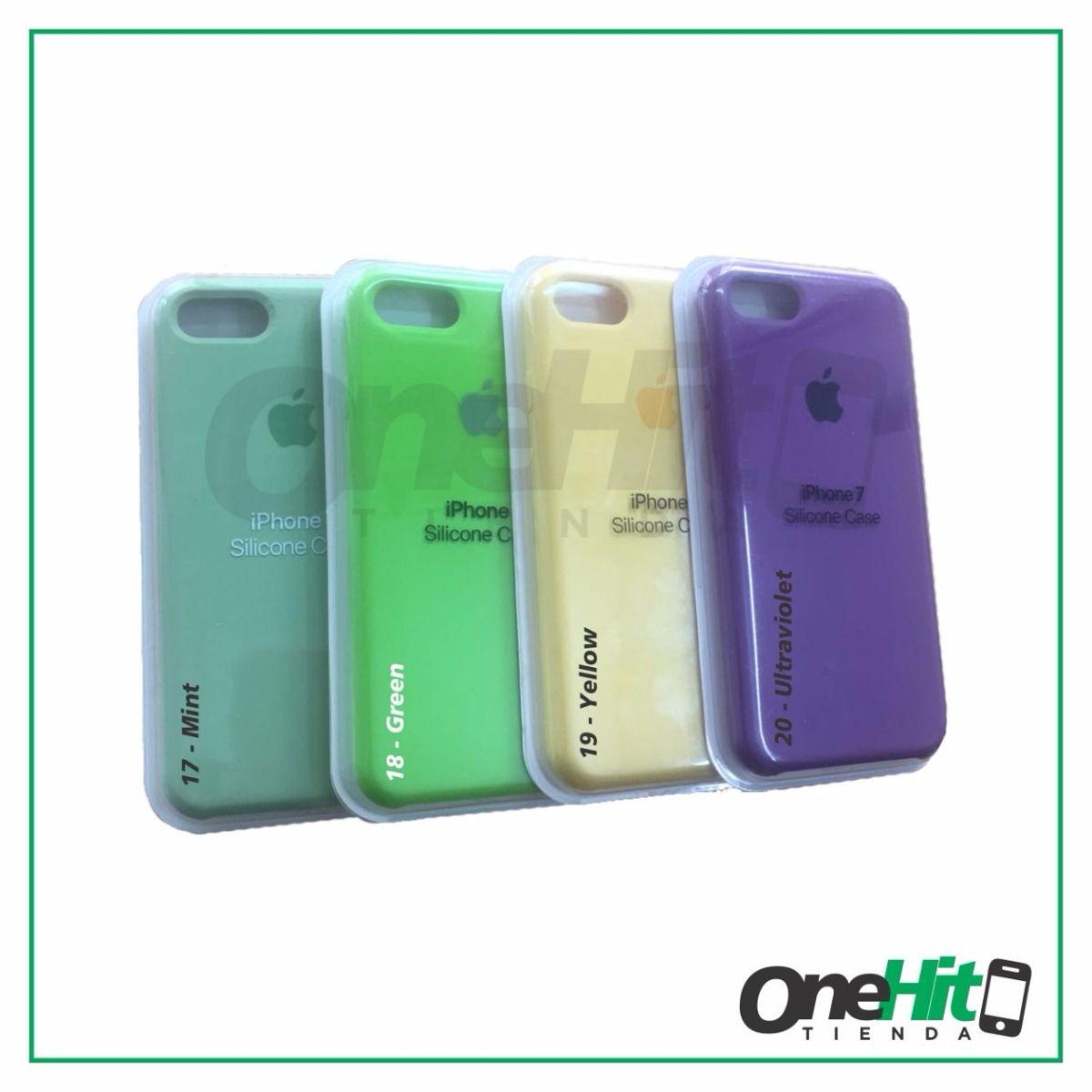 04da9f64e10 funda iphone® silicone case 5s se 6 6s 7 8 plus original. Cargando zoom.