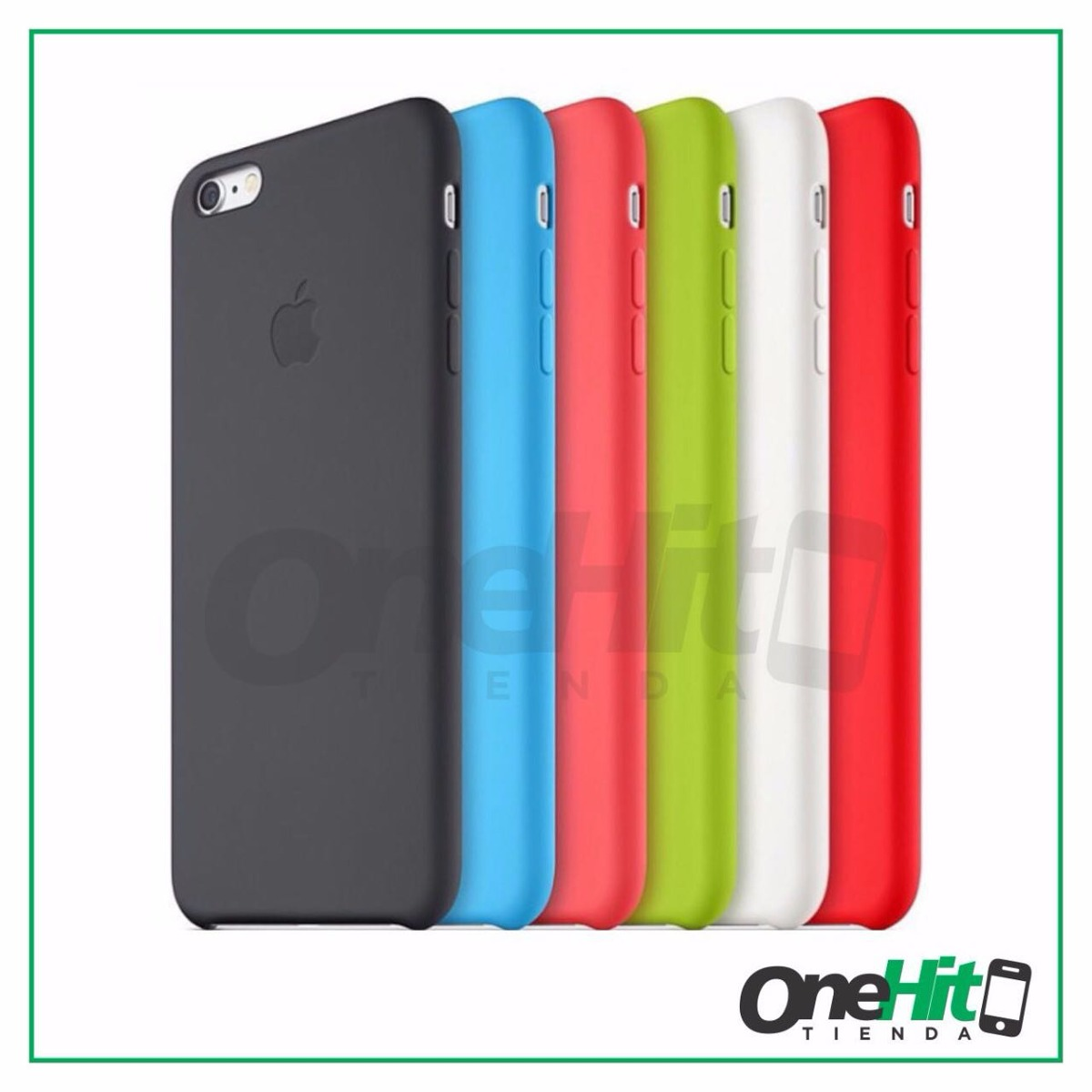 1415b6b588b funda iphone® silicone case 5s se 6 6s 7 8 plus original. Cargando zoom.