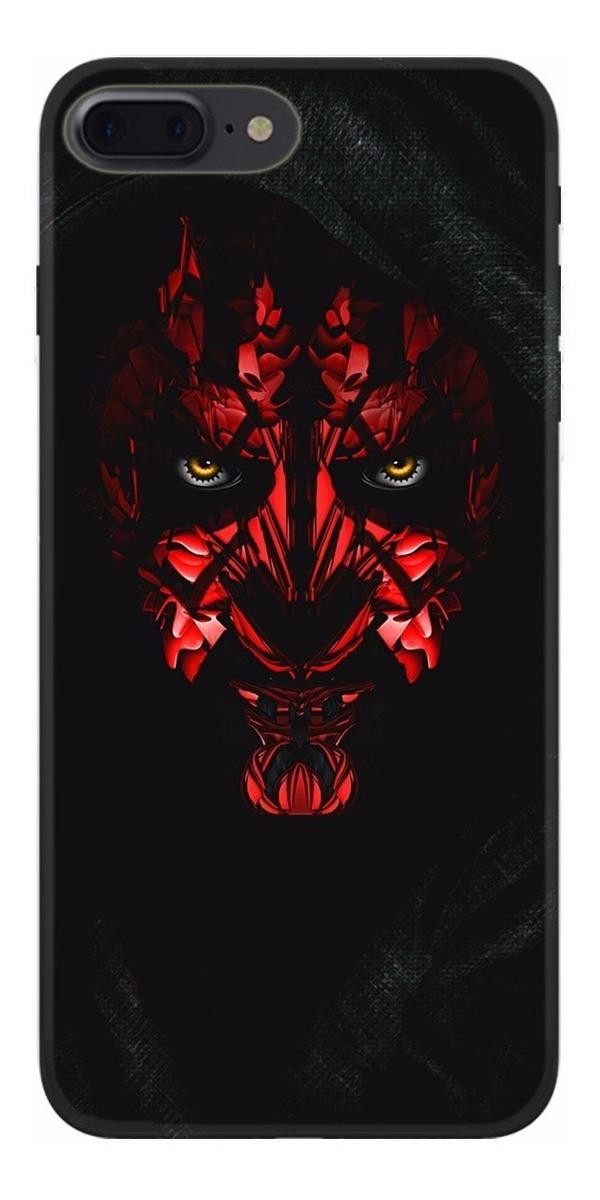 08674f6a78c Funda iPhone X 10 8 6 6s 7 5 5s Se Plus Star Wars Darth Maul ...