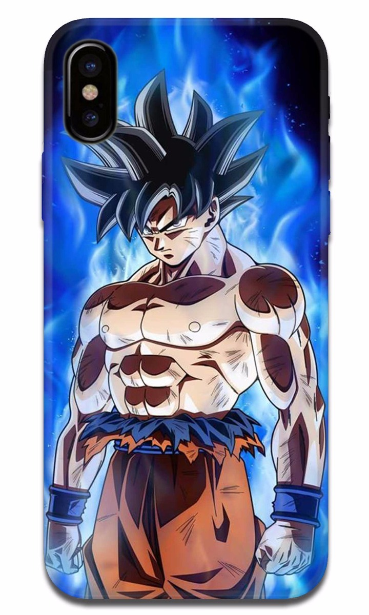 Funda Iphone X 8 6 6s 7 5s Se Plus Dragon Ball Goku