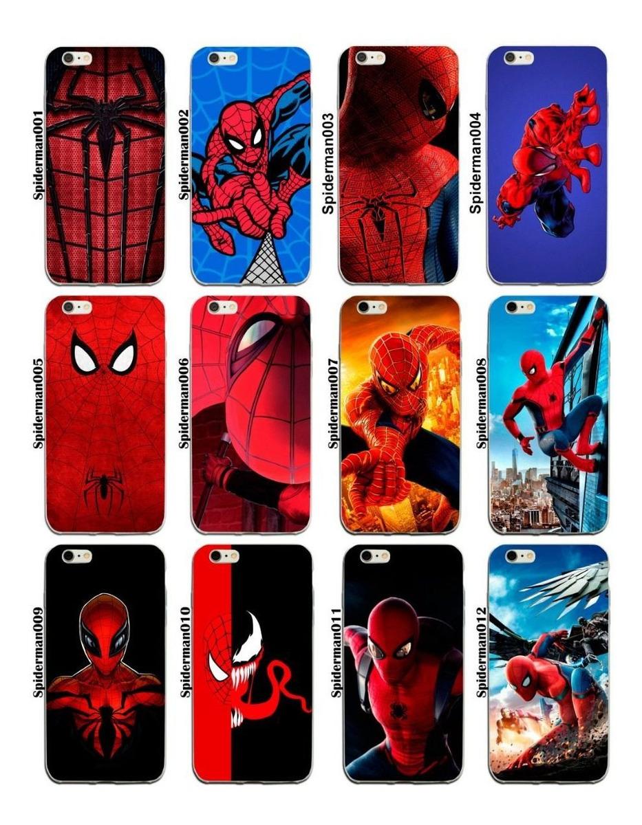 387cd35e423 Funda iPhone X 8 7 6 5 Se 5s Plus Spiderman Hombre Araña - $ 269.00 en Mercado  Libre
