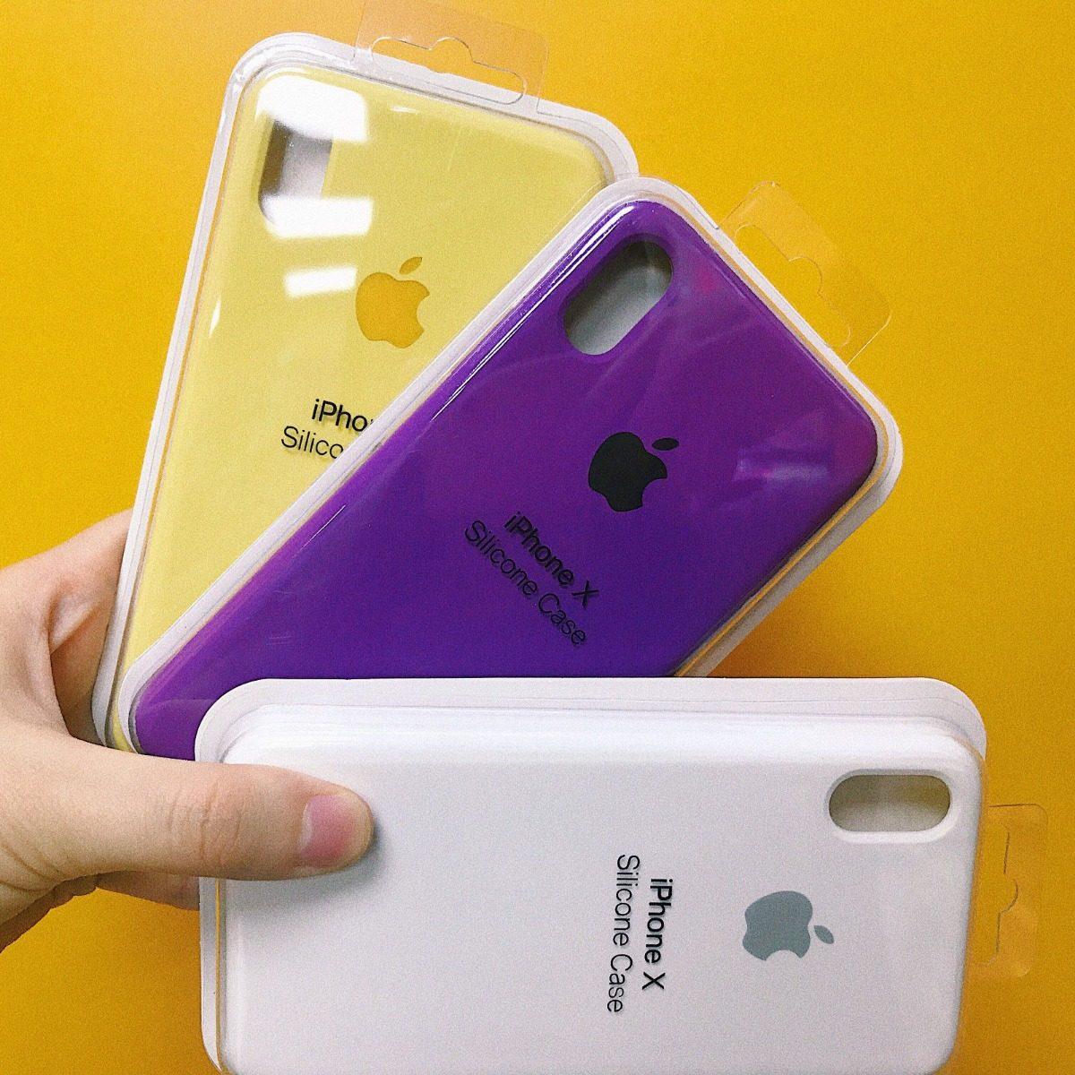 funda iphone x violeta