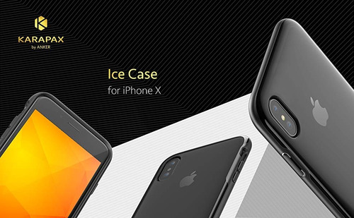 funda iphone x - anker karapax - ice - policarbonato
