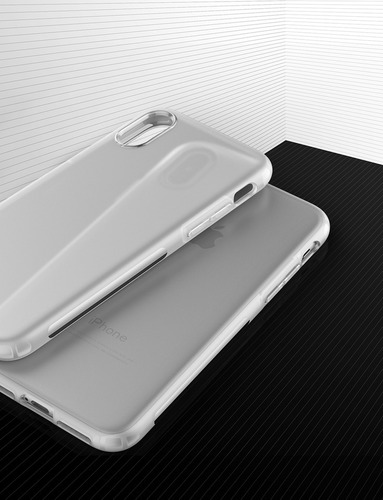 funda iphone x - anker karapax - touch - tpu flexible blanco